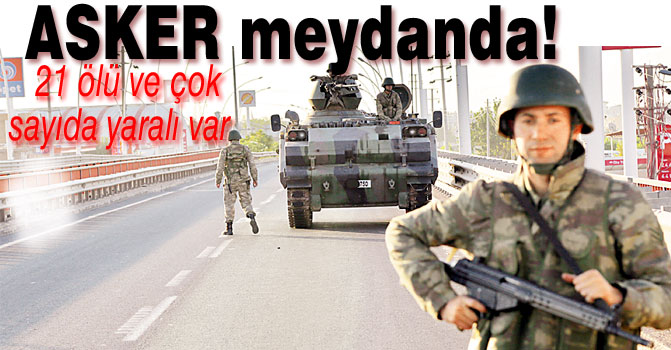 ASKER MEYDANDA!