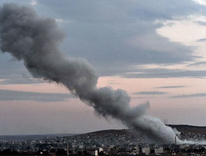 Koalisyon uçakları hastaneyi vurdu