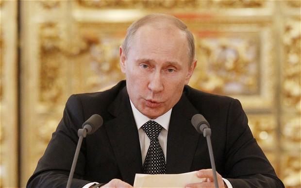 Putin'den  Filistin'e  destek mesajı