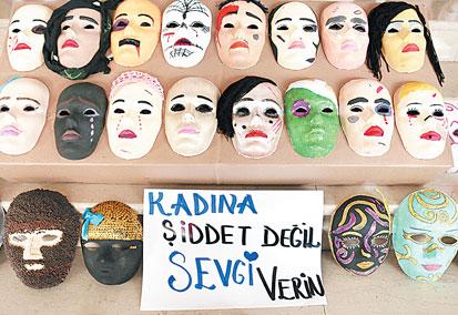Kadına şiddeti Anlatan Maskeler