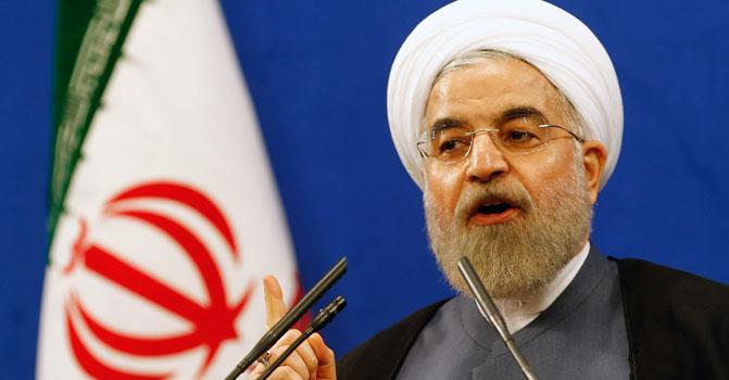 Ruhani'den ABD'ye ambargo tepkisi
