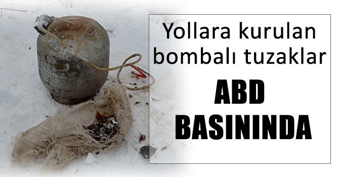 Hainlerin el yapımı bombaları ABD medyasında