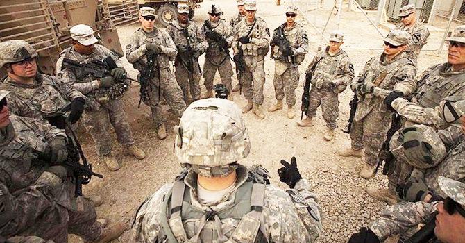 ABD askerleri Musul operasyonu için Erbil'de