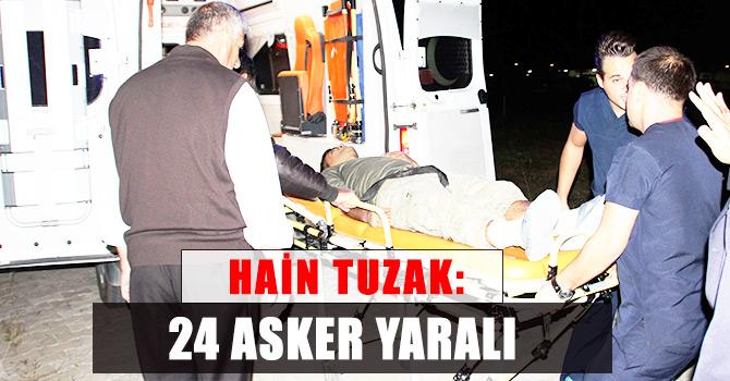 Hainler yine saldırdı 24 asker yaralandı