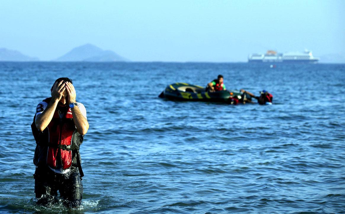 Ege Denizi'nde Göçmen Faciası