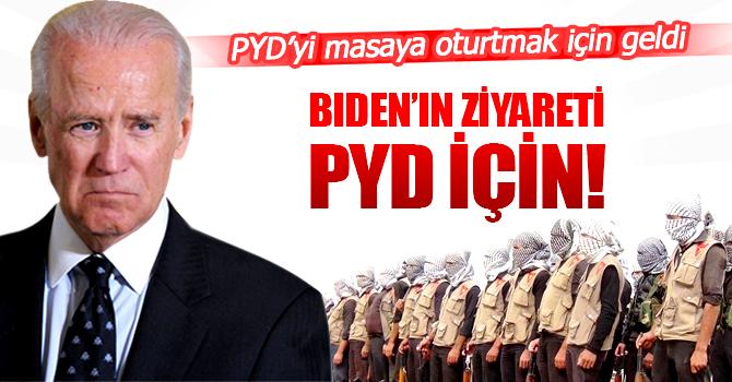 Biden'ın ziyareti PYD için!