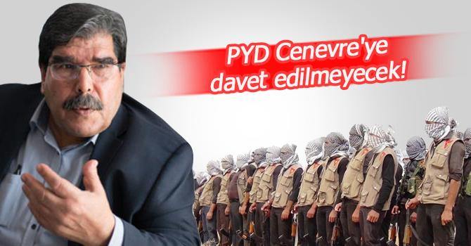 """""""PYD Cenevre'ye davet edilmeyecek"""""""