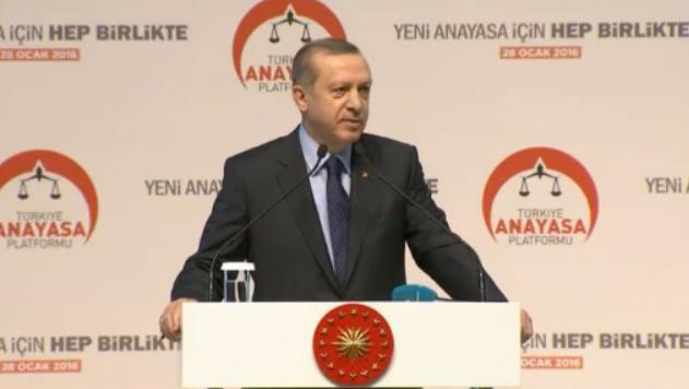 Erdoğan'dan flaş Başkanlık Sistemi ve yeni anayasa çıkışı