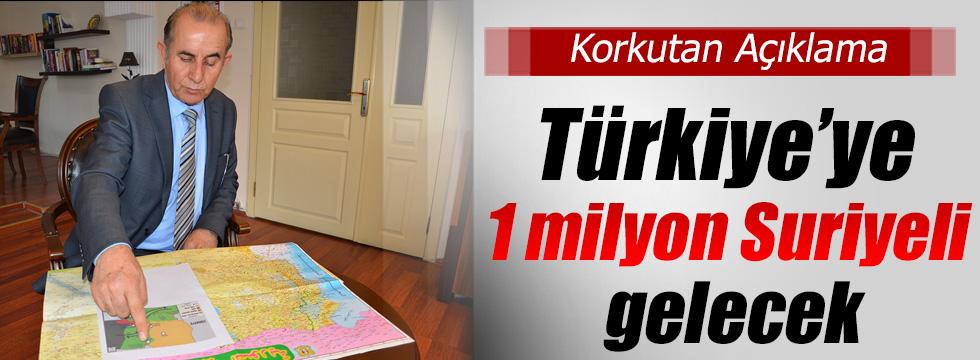 Türkiye'ye 1 Milyon Suriyeli Daha!