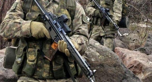 Hatay'da PKK'lılarla çatışma