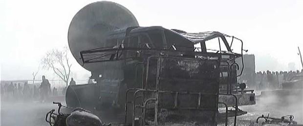 Doğalgaz tankeri patladı: 12 ölü