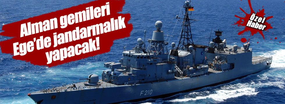 Alman Gemileri Ege'ye Geliyor