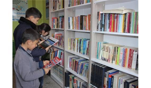 Ülkücüler Elazığ'da Kütüphane Açtı