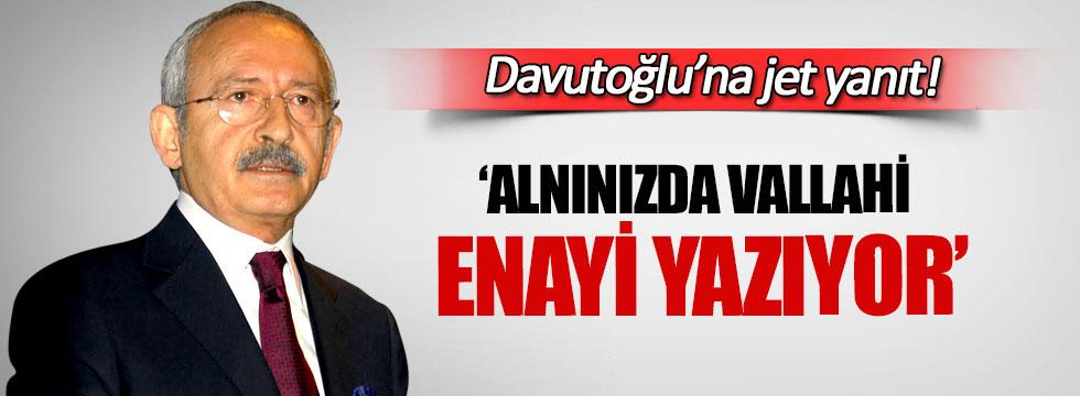 Kılıçdaroğlu'ndan Davutoğlu'na jet yanıtı