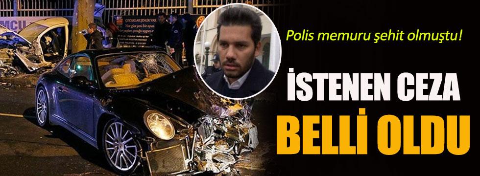 Rüzgar Çetin'e istenen ceza belli oldu