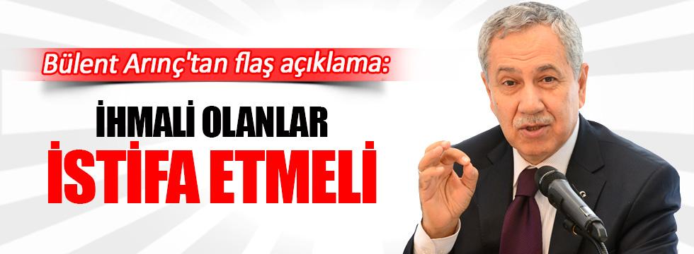 Ankara patlaması Bülent Arınç'tan flaş açıklama
