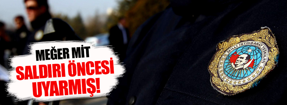 MİT 7 Ocak'ta PKK'ya karşı uyarmış