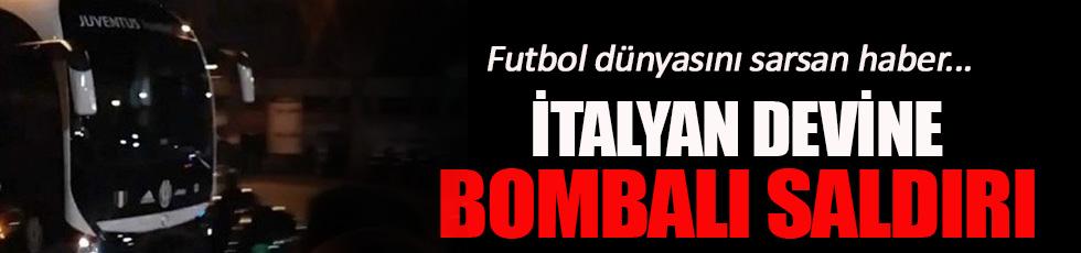 Juventus'a bombalı saldırı!