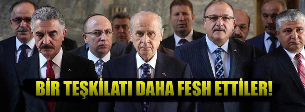 MHP Elazığ yönetimi de görevden alındı