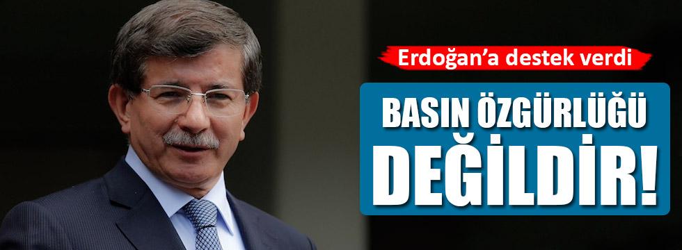Davutoğlu'ndan AYM açıklaması