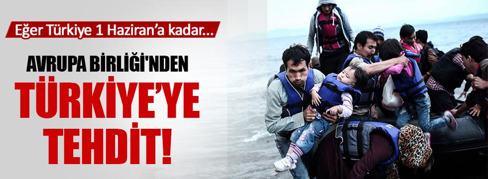 Avrupa Birliği'nden Türkiye'ye sığınmacı tehdidi