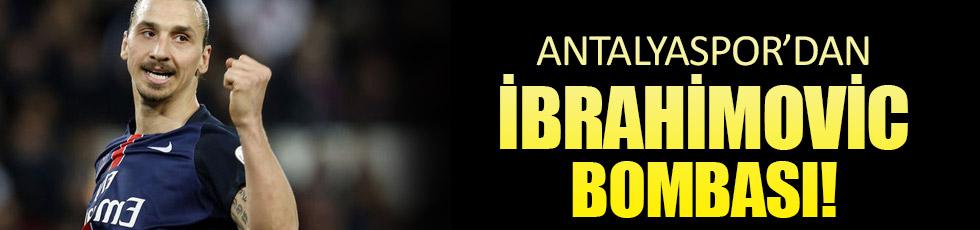 Antalyaspor'dan Zlatan Ibrahimovic açıklaması