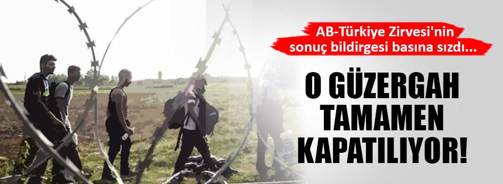 AB zirvesinden Balkan kapısını kapatma kararı çıktı