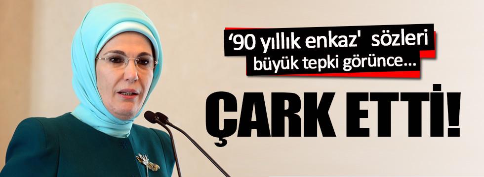 Emine Erdoğan'dan '90 yıllık enkaz' çarkı!