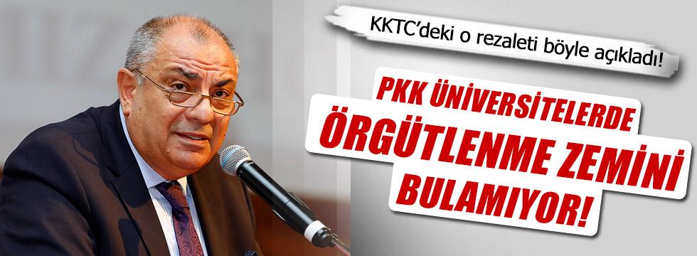 Türkeş'ten KKTC'deki PKK yapılanması hakkında açıklama