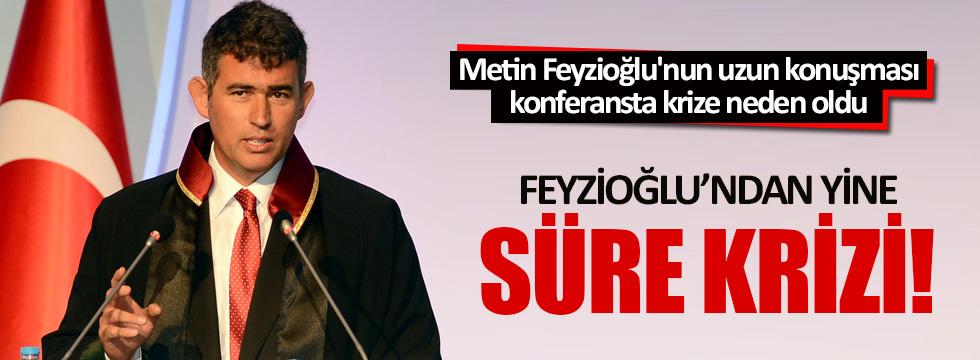 Genç Avukatlar Kurultayı'nda Metin Feyzioğlu krizi