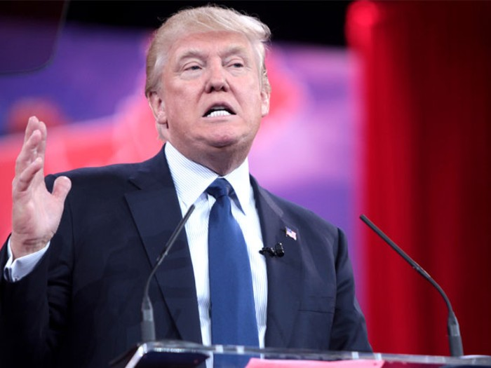 Trump mitingi öncesi şok olay!