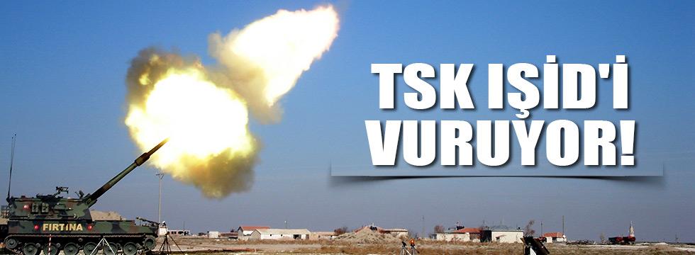 TSK IŞİD'i vuruyor