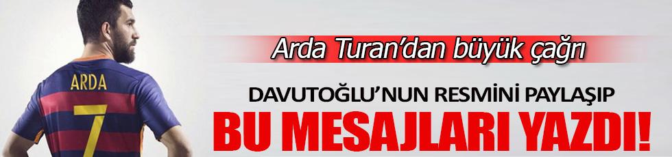 Arda Turan'dan dünya liderlerine çağrı
