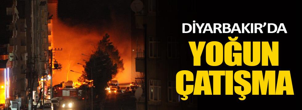 Diyarbakır'da yoğun çatışma!