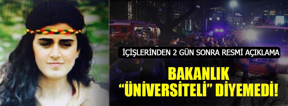 Ankara'daki bombacının kimliği kesinlik kazandı