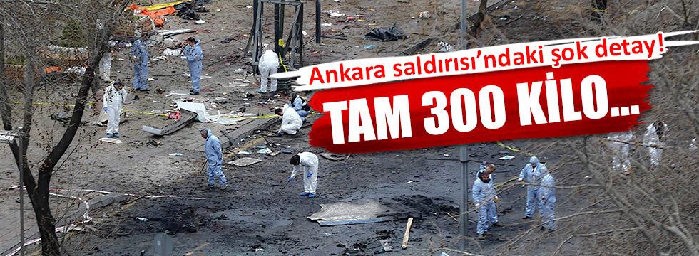 Ankara saldırısında 300 kilo patlayıcı kullanılmış