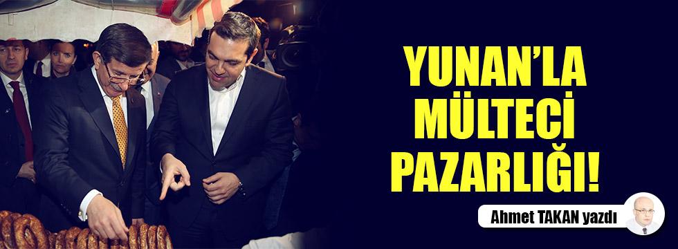 İzmir'i hedef gösteren Yunan'la mülteci pazarlığı...