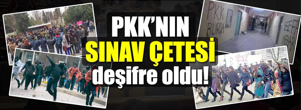 PKK'nın sınav çetesi yakalandı