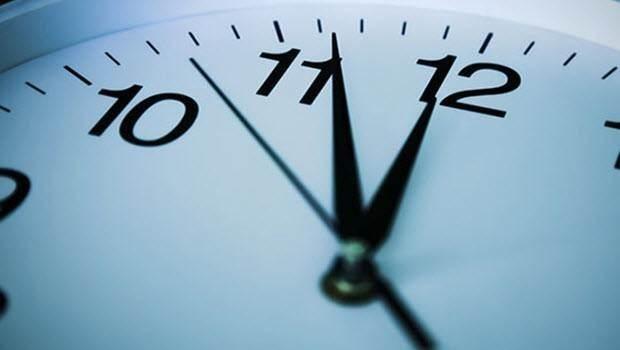 Dikkat! Saatler ileri alınıyor...