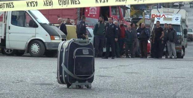 Emniyet Müdürlüğü önünde bomba alarmı