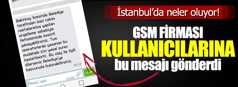 Vodafone'den Bakırköy uyarısı