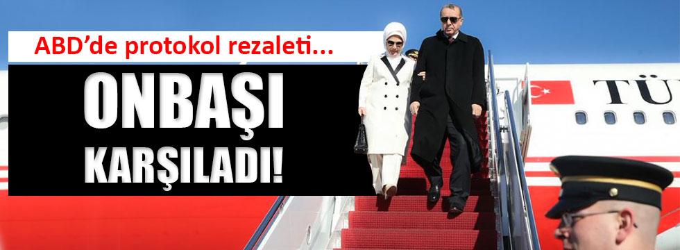 Erdoğan'a ABD'de karşılama rezaleti!