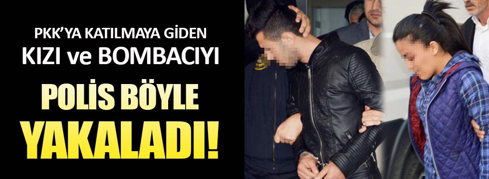 Adana'da PKK'ya katılmak isteyen kız ve bombacı yakalandı