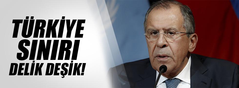 """""""Türkiye - Suriye sınırı delik deşik"""""""