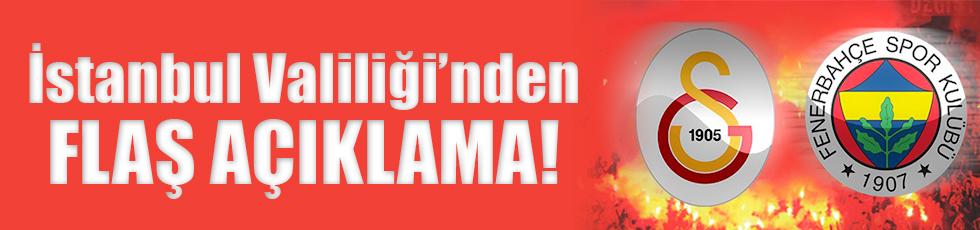 Fenerbahçe ve Galatasaray maçları açıklaması