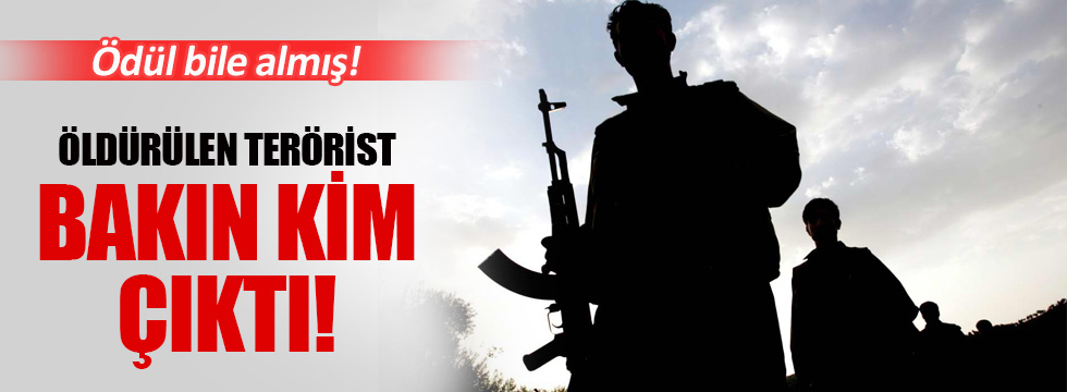 Öldürülen PKK'lı okul müdürü çıktı!