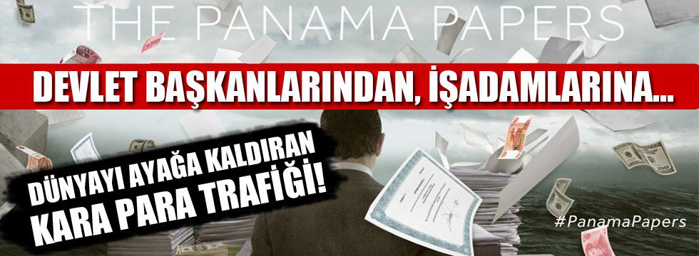Panama Belgeleri sızdı, dünya ayakta!
