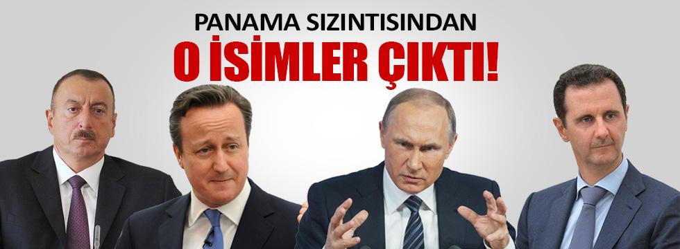 Panama sızıntısından dünya liderleri çıktı!