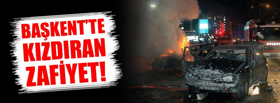 Başkent'te kızdıran zafiyet!