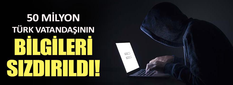 50 milyona yakın Türk vatandaşının kimlik bilgileri internete 'sızdırıldı'
